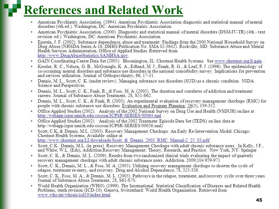 45 American Psychiatric Association. (1994).