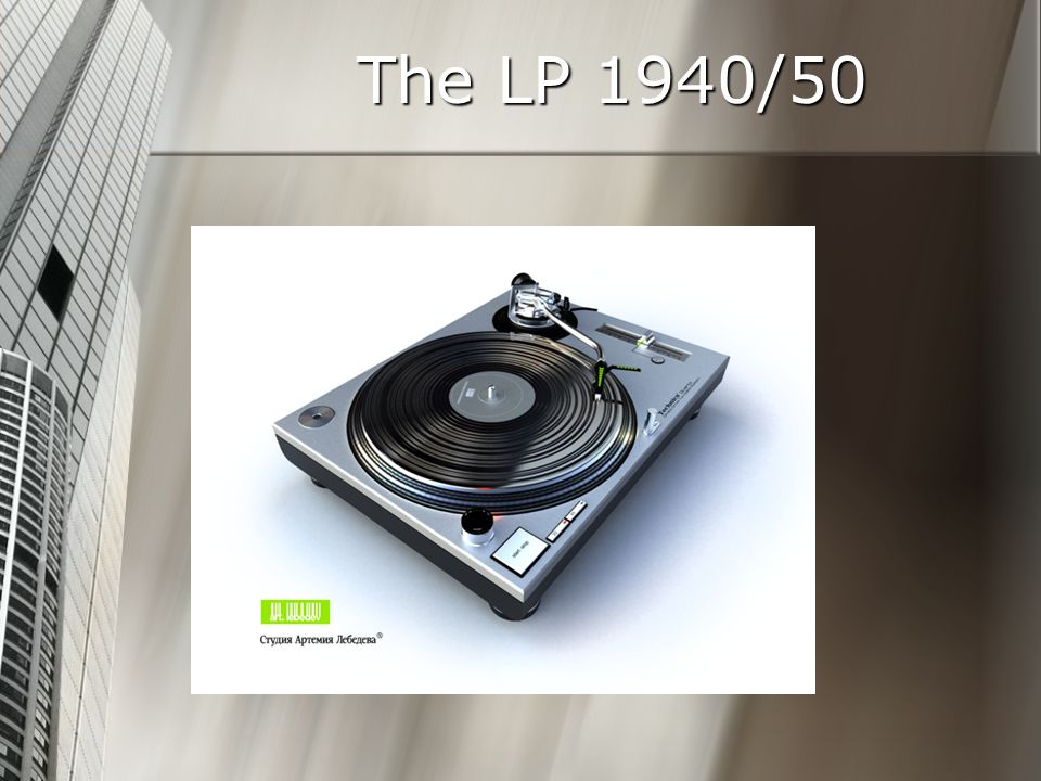 The LP 1940/50