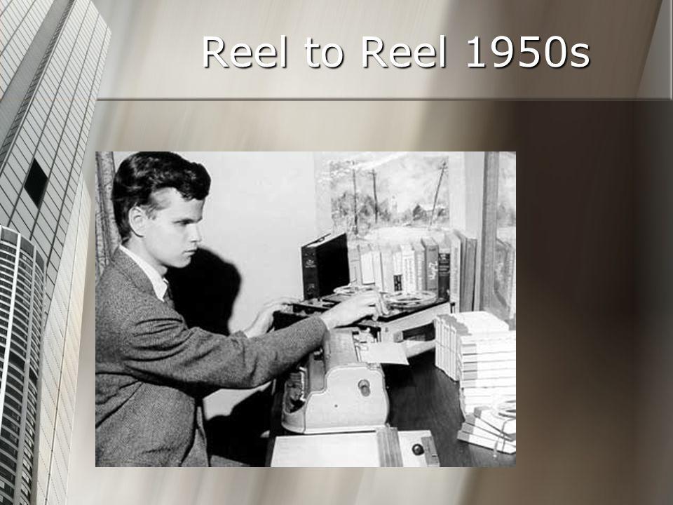 Reel to Reel 1950s