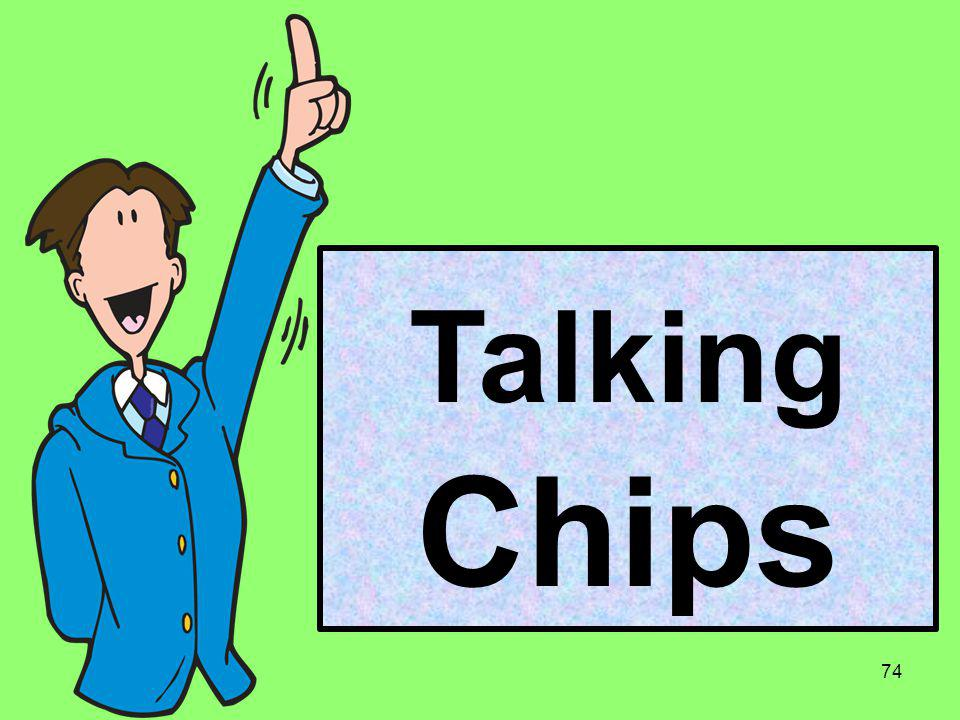 Talking Chips 74