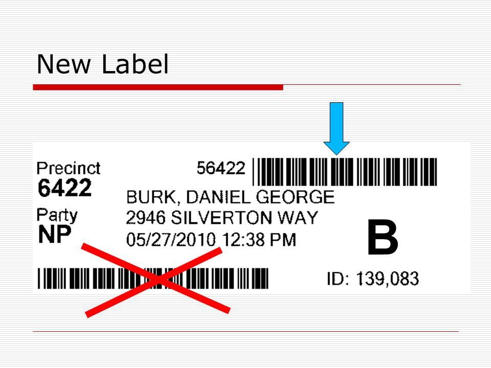 New Label B