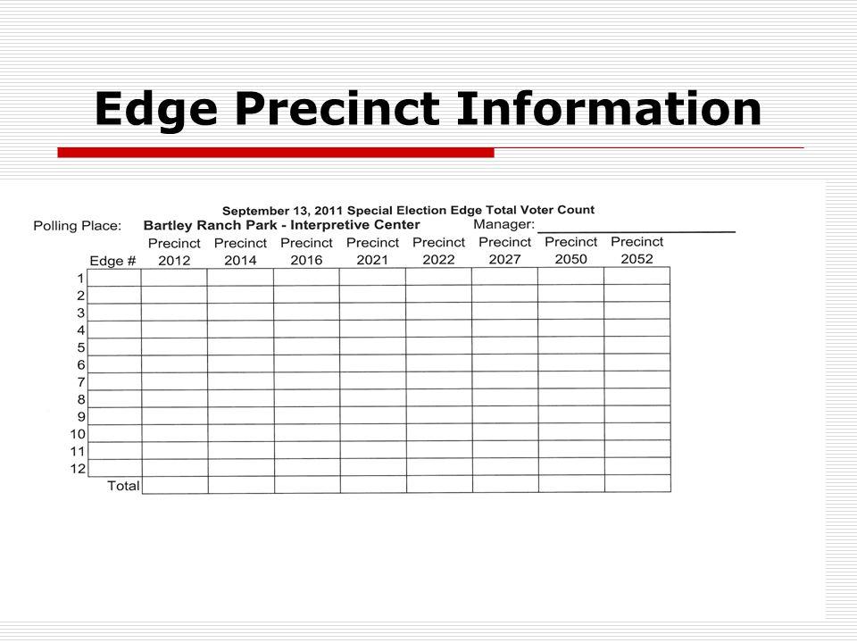 30 Edge Precinct Information