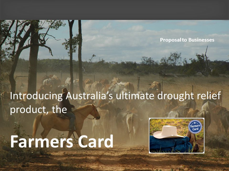 What is Farmers Card.