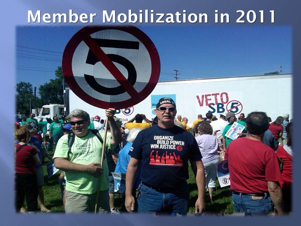 Member Mobilization in 2011