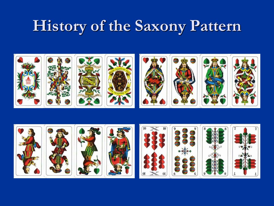 History of the Saxony Pattern