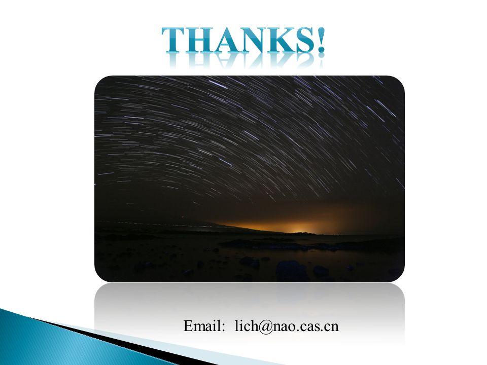 Email: lich@nao.cas.cn