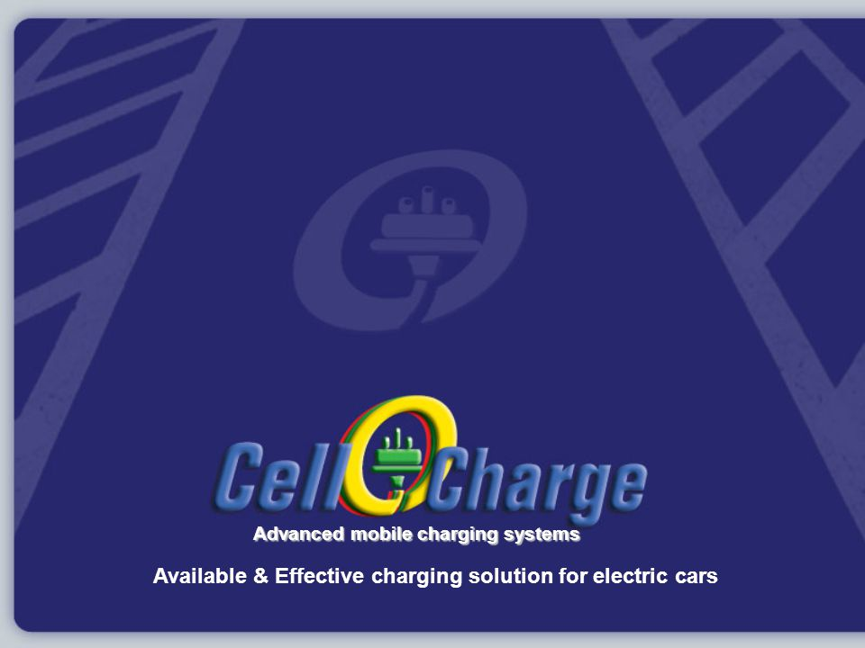 Available & Effective charging solution for electric cars Advanced mobile charging systems
