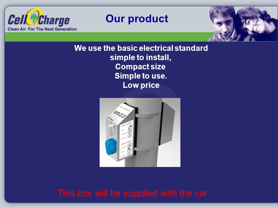 Our product We use the basic electrical standard simple to install, Compact size Simple to use.