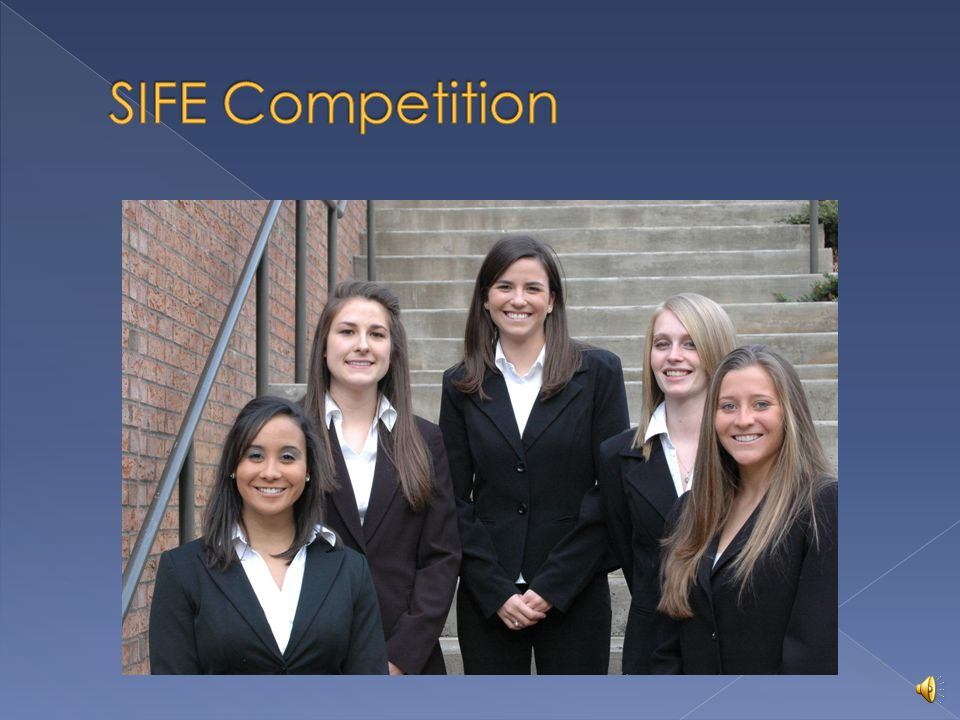Students in Free Enterprise SIFEs mission: To bring together the top leaders of today and tomorrow to create a better, more sustainable world through the positive power of business.