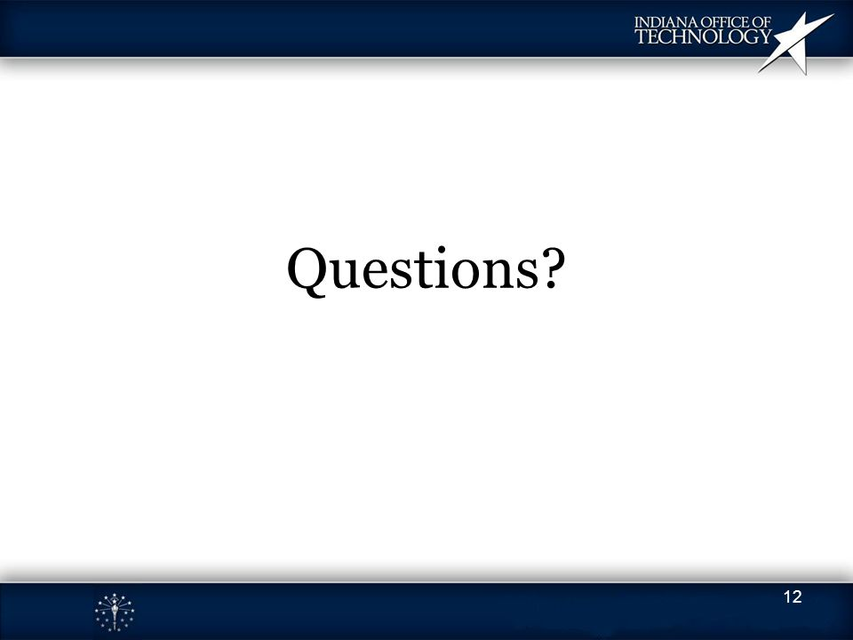 Questions 12