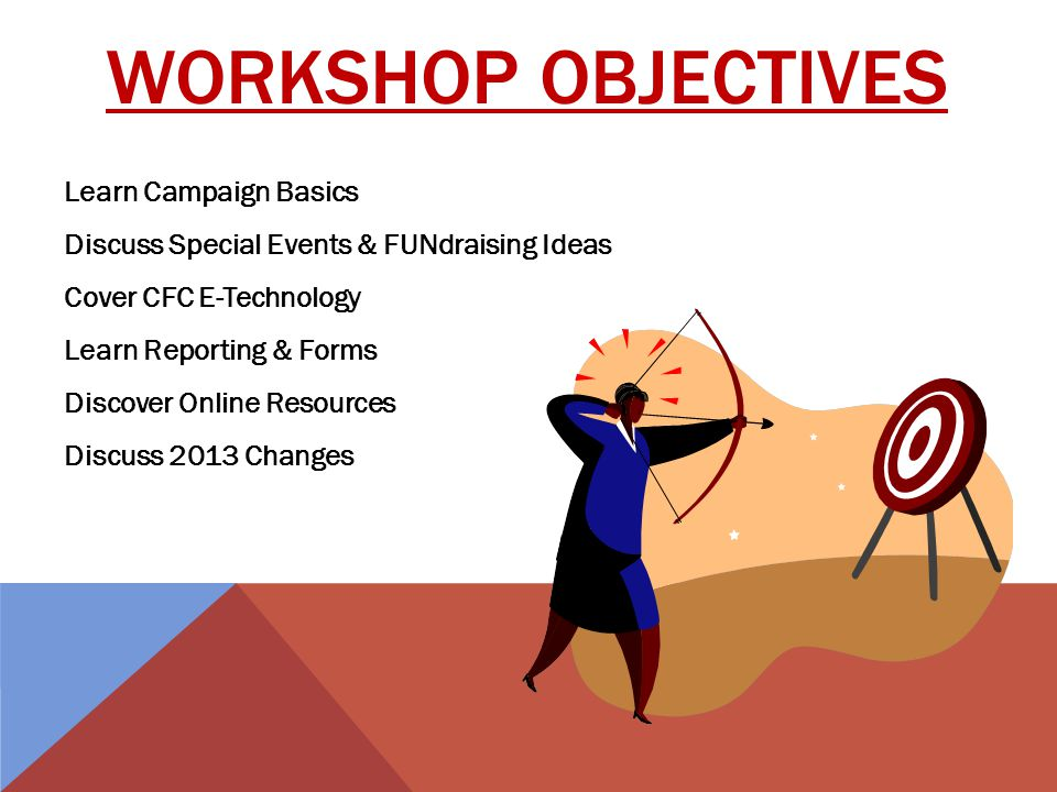 NOTEBOOK OVERVIEW Know the Facts About CFC Page 2 Key Campaign Workers 3 Your Role & Responsibilities 4 The Campaign Action Plan 5 Pre-Campaign 6 During the Campaign 10 Post-Campaign 12