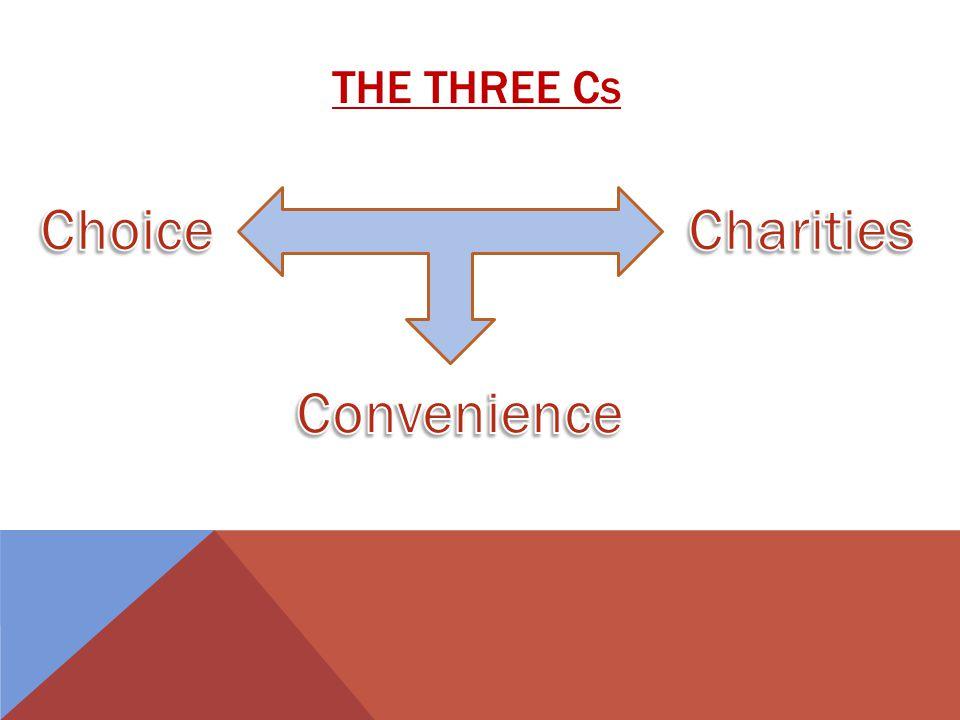 THE THREE C S