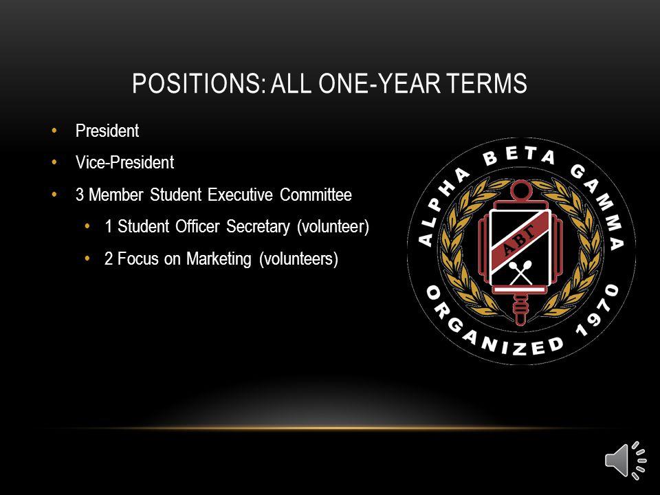 WAYNE MARTIN, NATIONAL STUDENT PRESIDENT Alpha Beta Gamma International Business Honors Society National Student President, Fall 2013-Current Chi Zeta