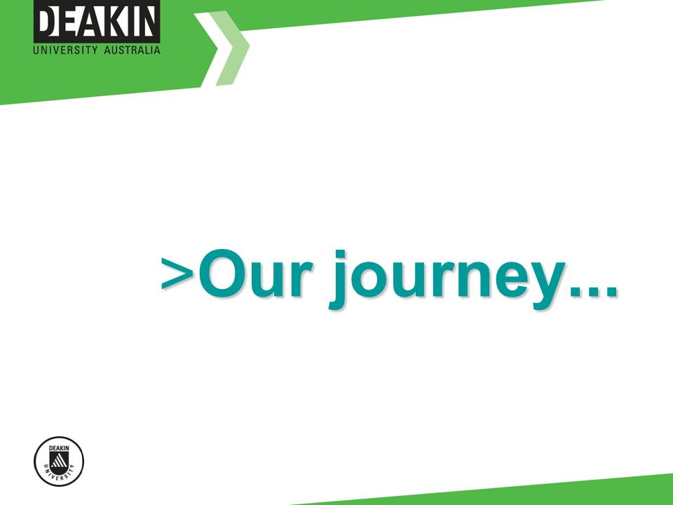 >Our journey...