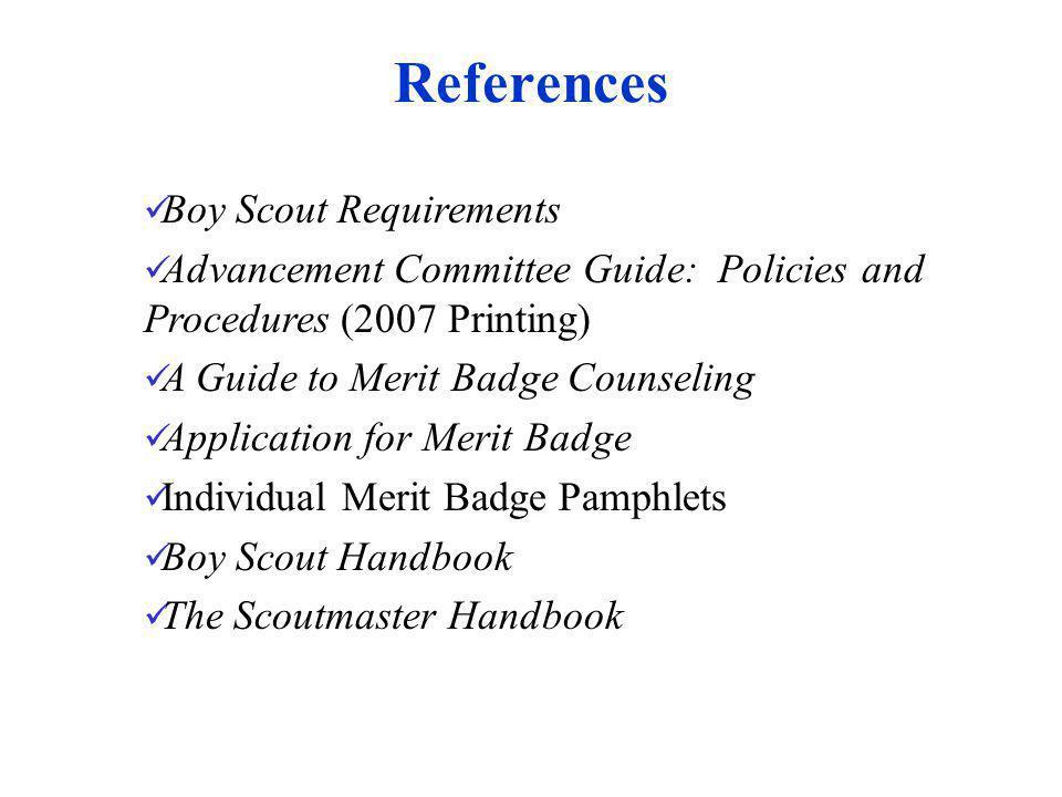 Agenda What Are Merit Badges.