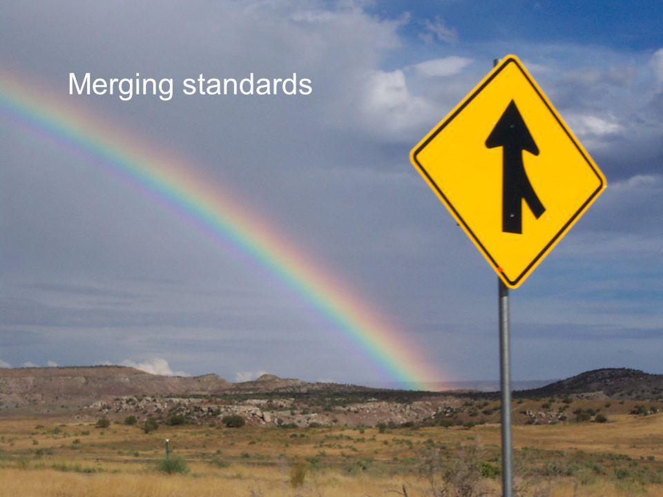Merging standards