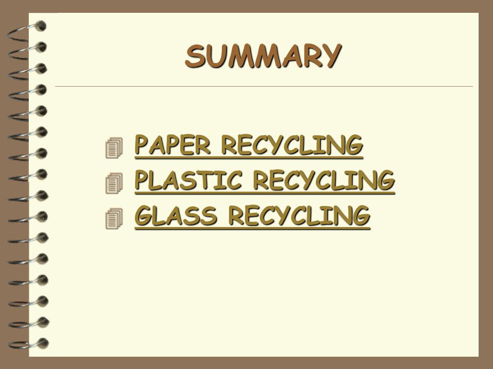 The Circle of Paper Recycling