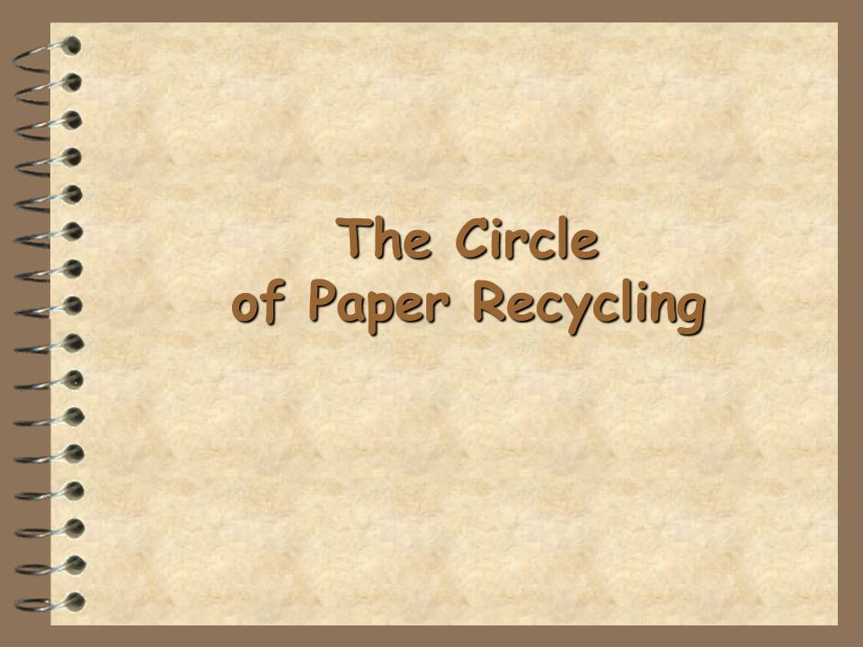 Paper products, cardboard and card, when they are used, they should be recycled so they can be used again.