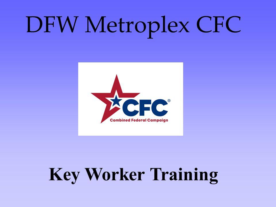 DFW Metroplex CFC Key Worker Training