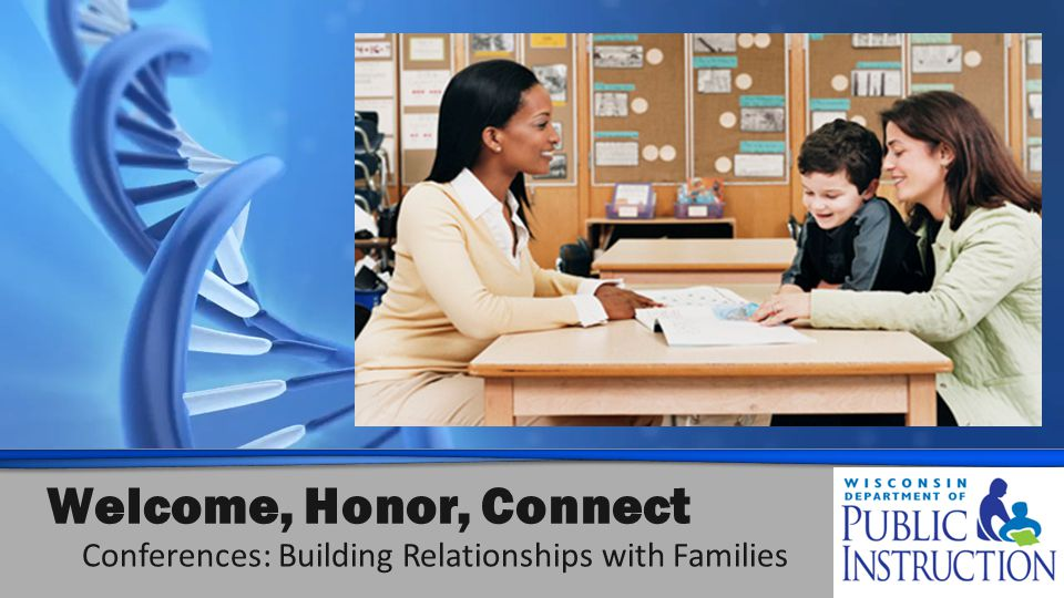 Welcome, Honor, Connect Conferences: Building Relationships with Families