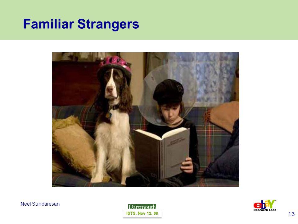 13 Neel Sundaresan Familiar Strangers