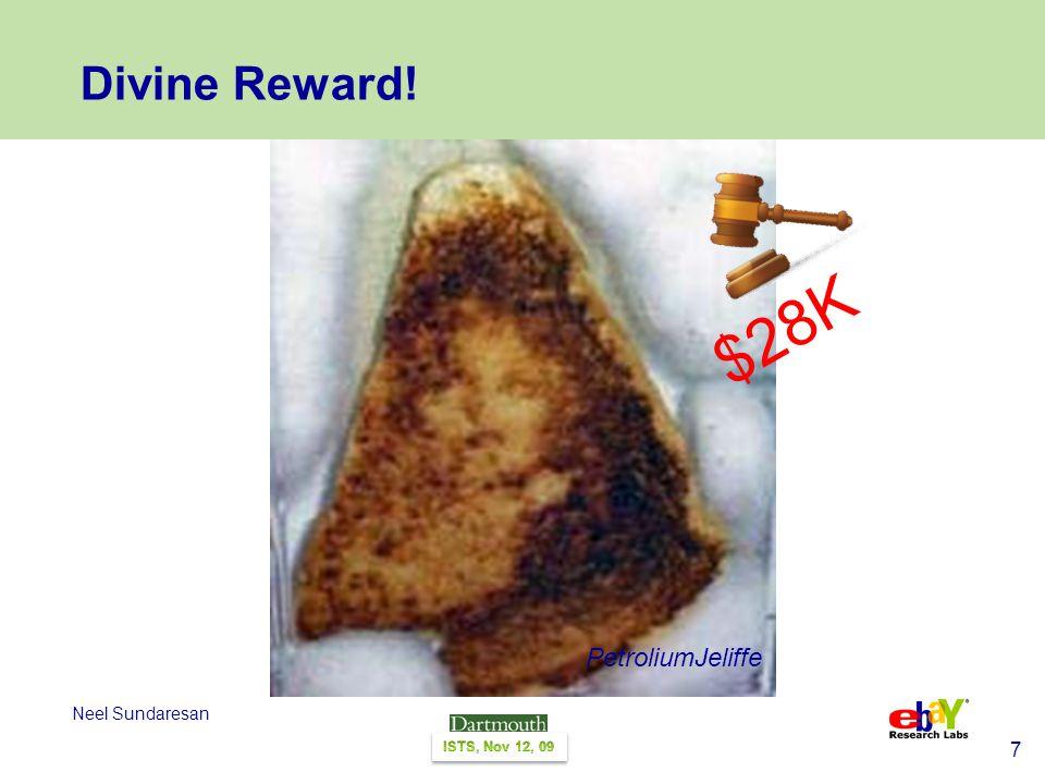 7 Neel Sundaresan Divine Reward! PetroliumJeliffe $28K