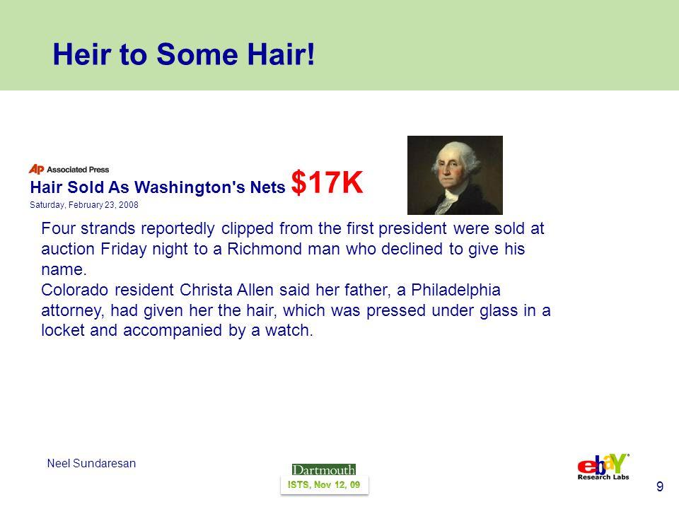 9 Neel Sundaresan Heir to Some Hair.