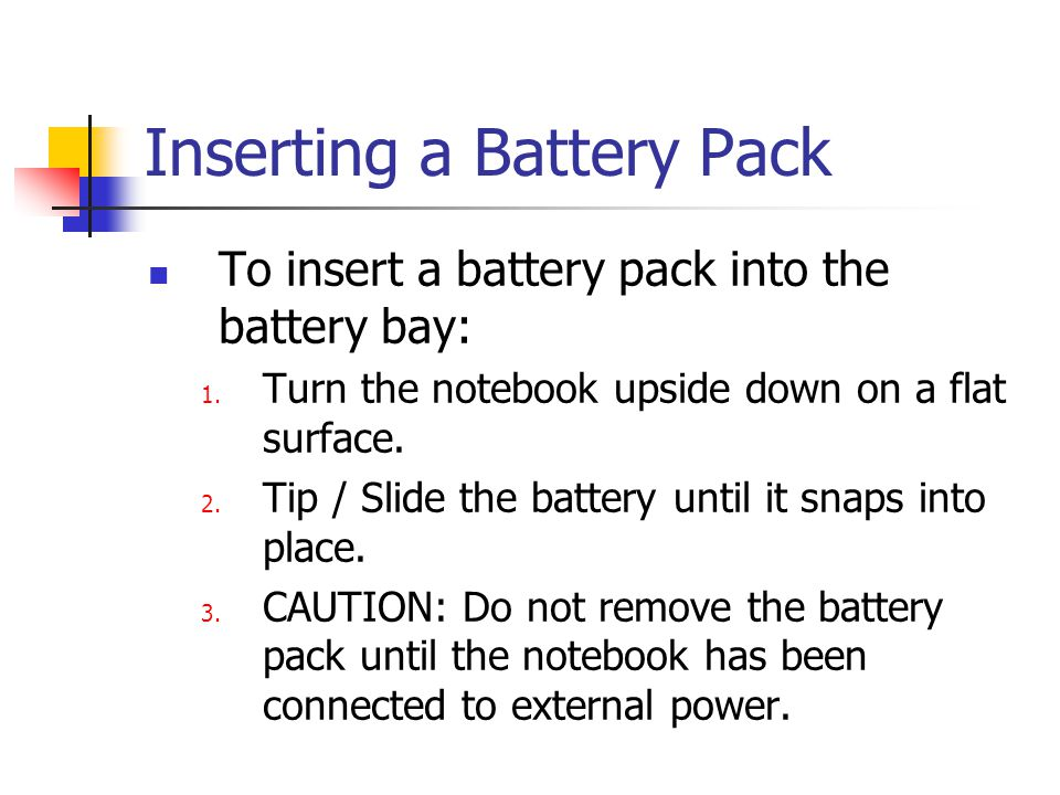 Calibrating a Battery Pack When to calibrate.