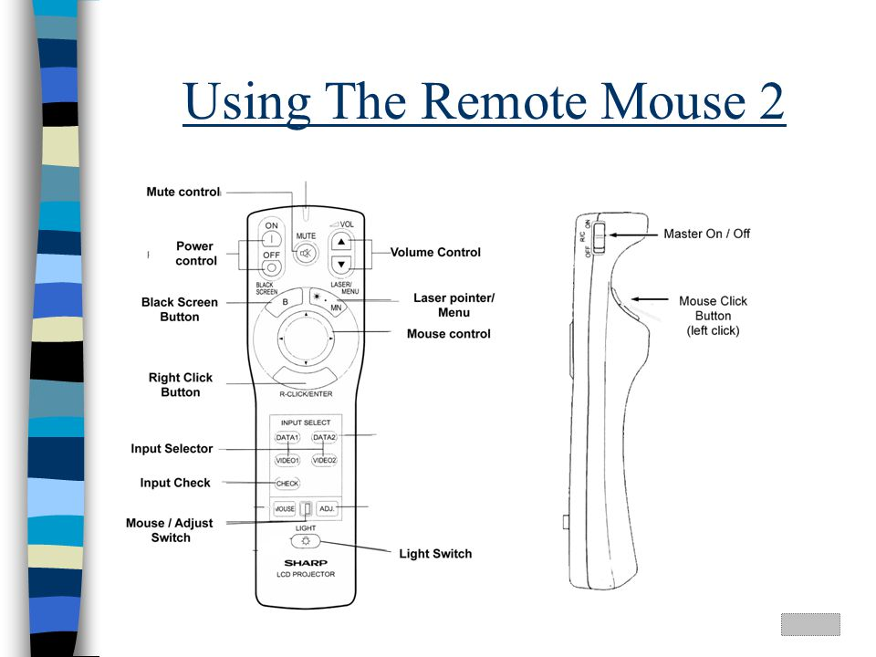 Using The Remote Mouse 2