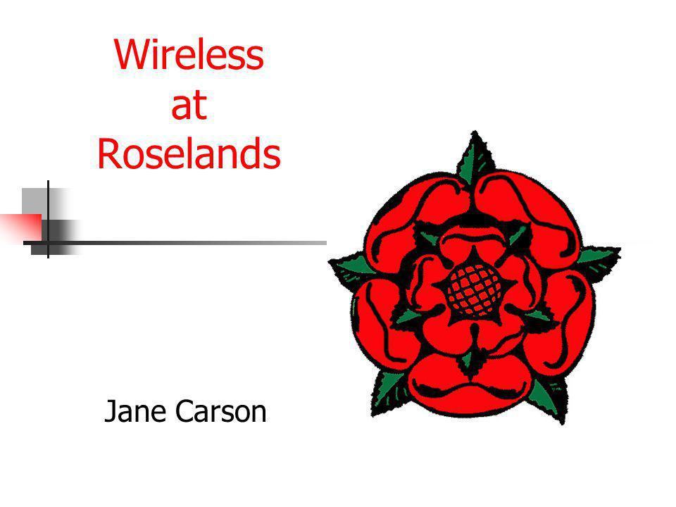 Wireless at Roselands Jane Carson