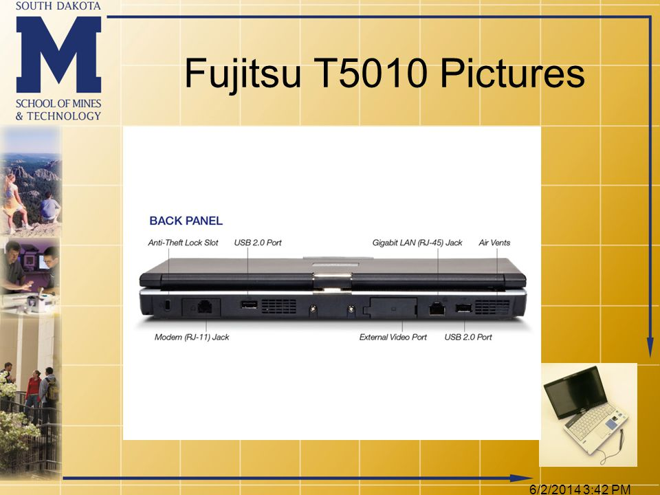 6/2/2014 3:44 PM Fujitsu T5010 Pictures
