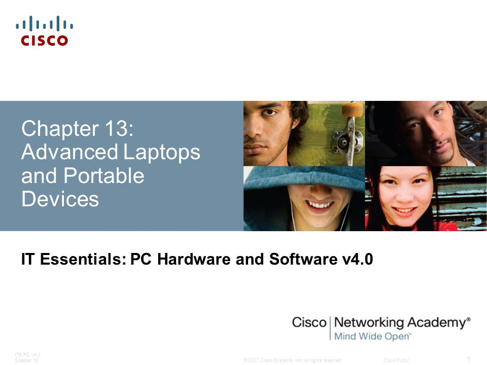 ITE PC v4.0 Chapter 13 32 © 2007 Cisco Systems, Inc.