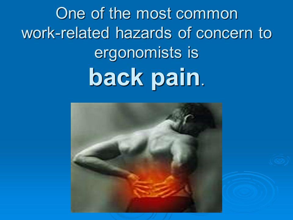 Ergonomics Contributing Conditions… www.OSHA.gov www.OSHA.gov How do I look for conditions that may contribute to musculoskeletal disorders.