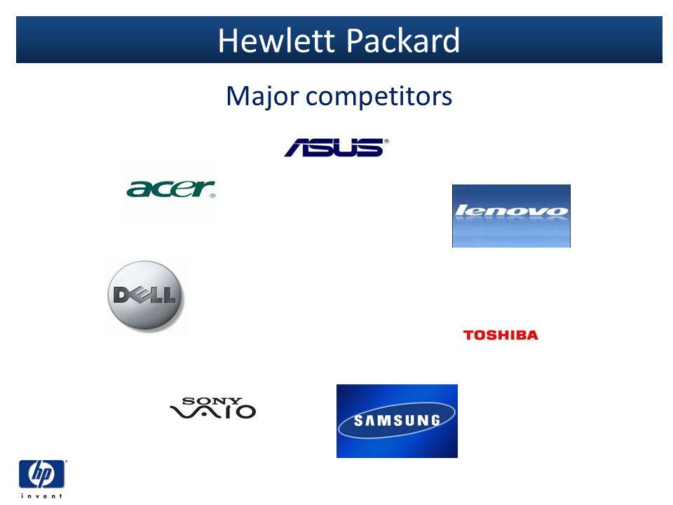 Hewlett Packard Major competitors