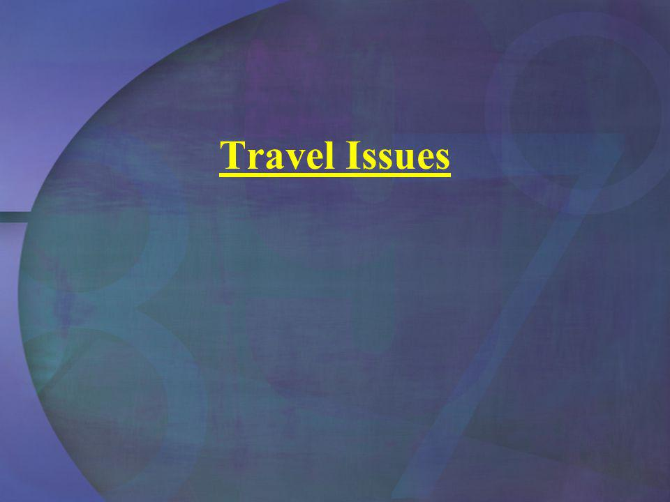 Travel Issues