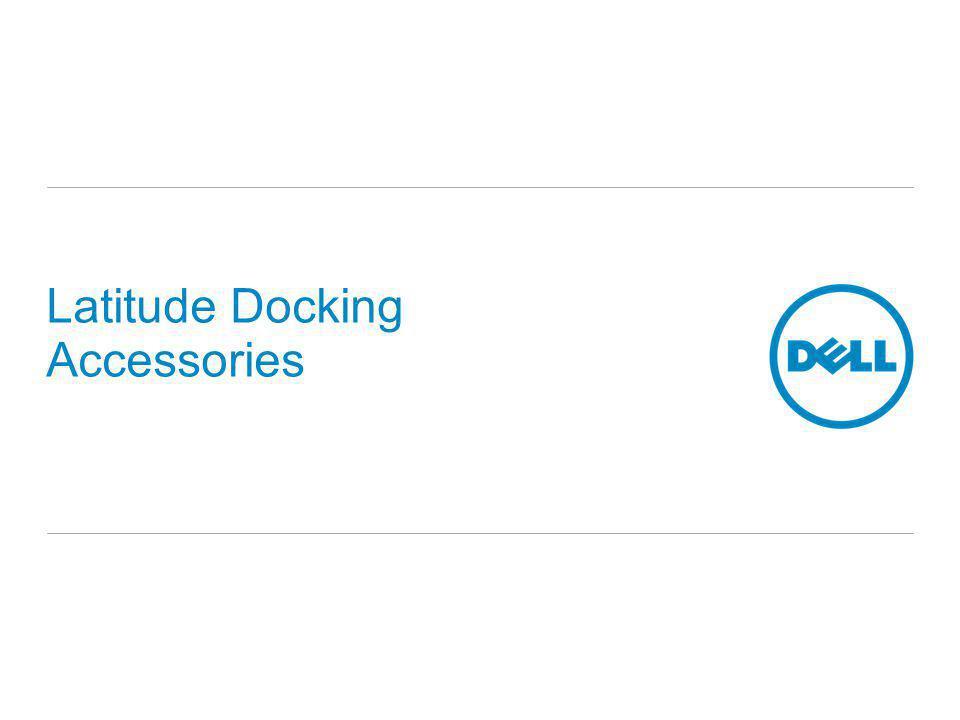 Latitude Docking Accessories