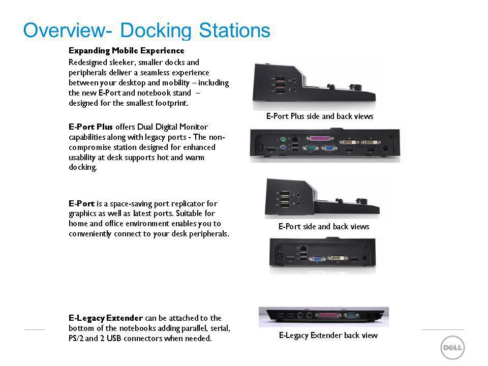 Overview- Docking Stations