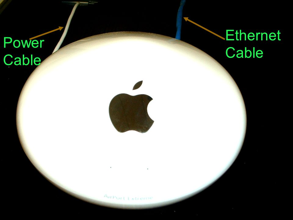 Power Cable Ethernet Cable