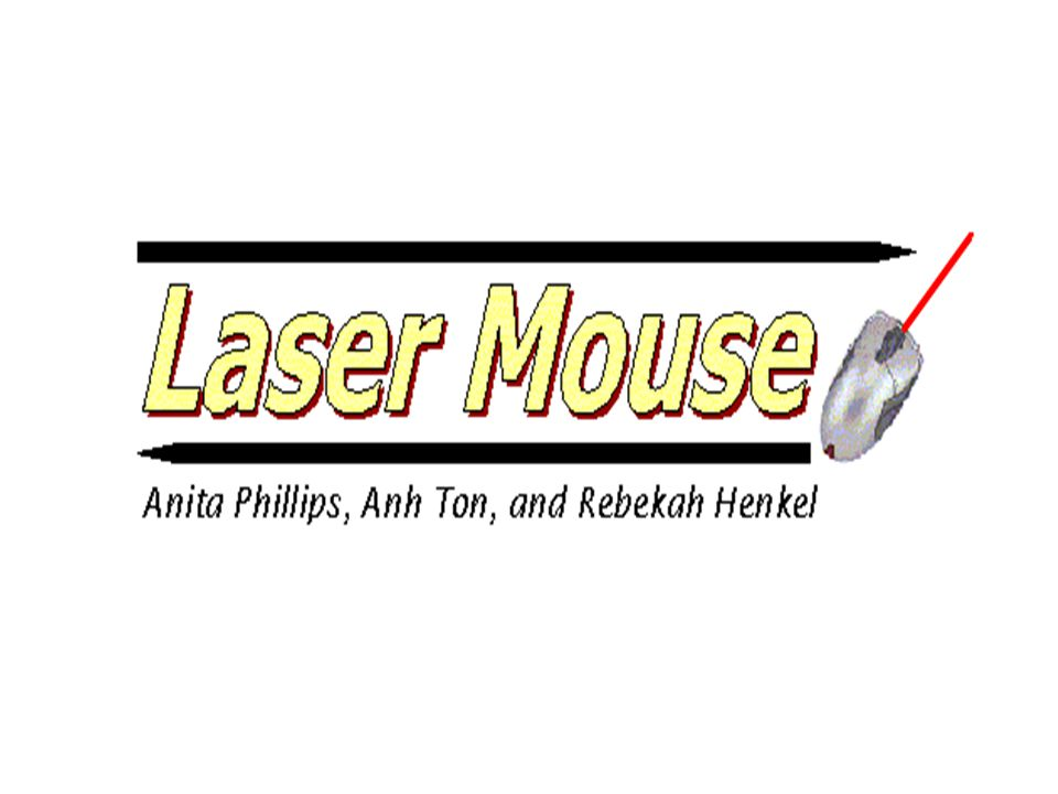 1.Obtain laser pointer coordinates 2.Send laser pointer coordinates to laptop through the PS/2 port 3.Pixel Mapping between camera image and laptop screen & calibration 4.Attach a button to the laser pointer Four major components to laser mouse