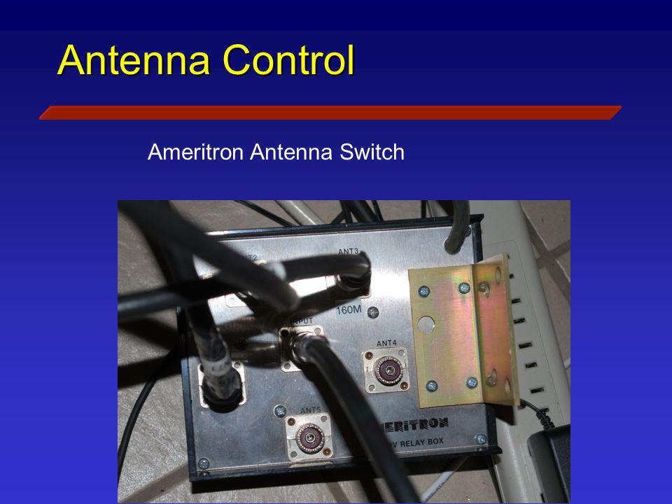 Antenna Control Ameritron Antenna Switch