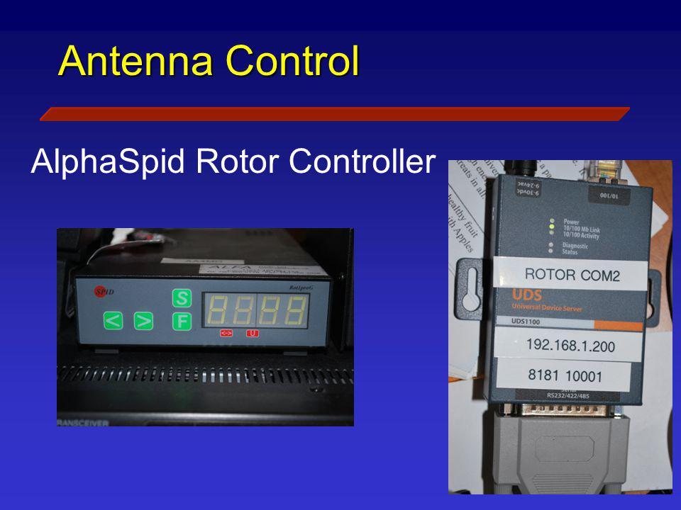 Antenna Control AlphaSpid Rotor Controller
