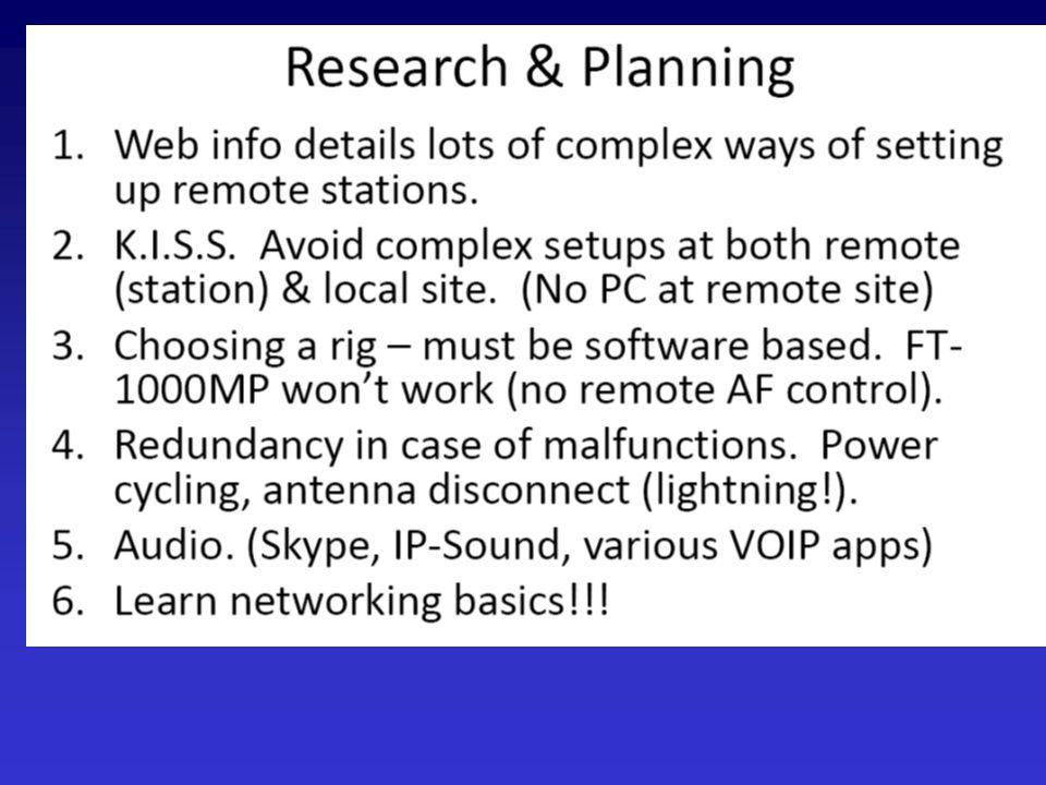 Internet capable transceiver TenTec Omni7