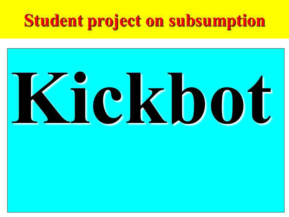 Student project on subsumption Kickbot
