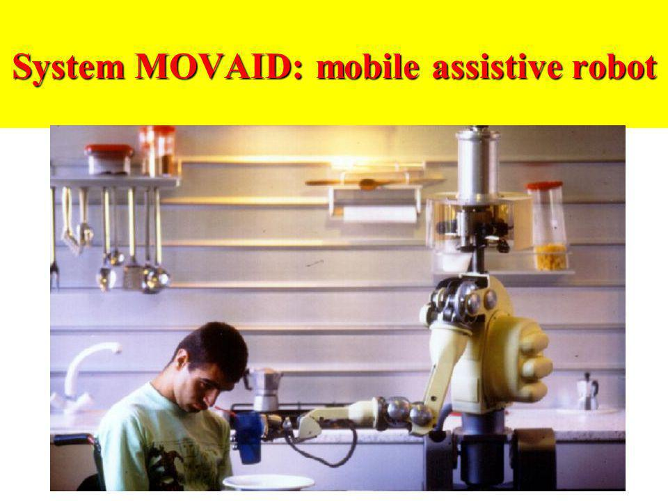 System MOVAID: mobile assistive robot