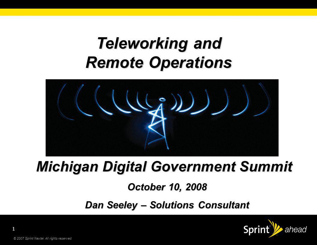 © 2007 Sprint Nextel. All rights reserved.