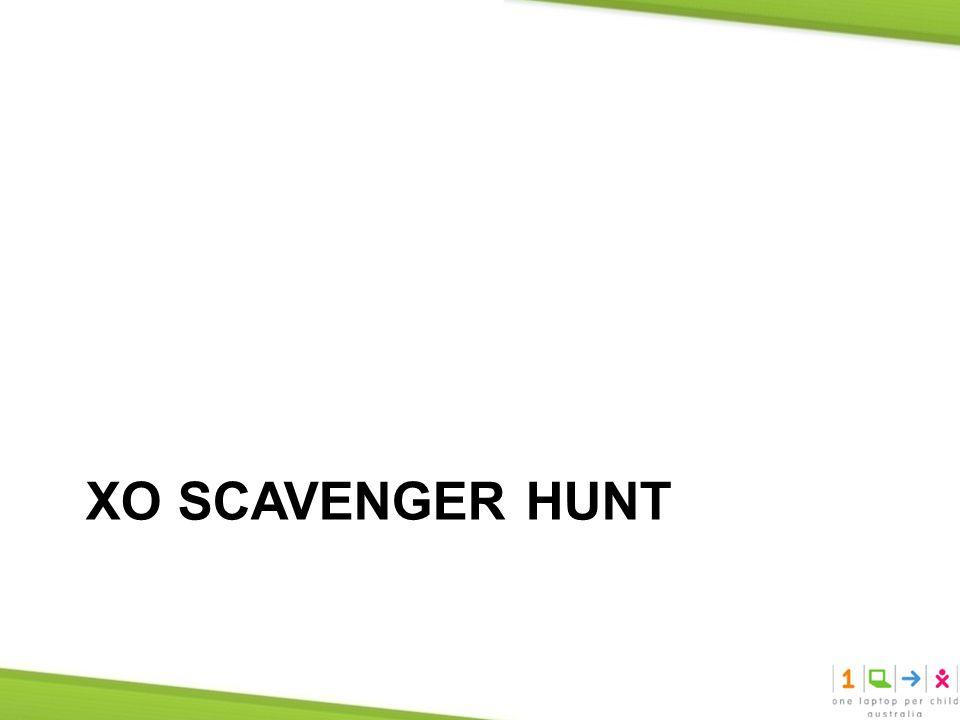 XO SCAVENGER HUNT