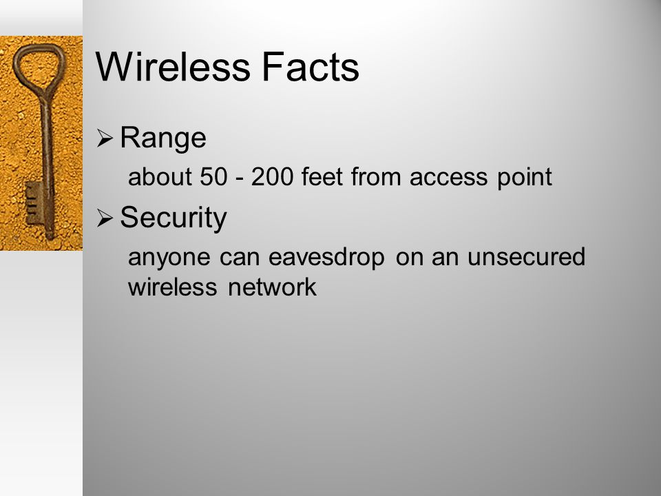 Why is it so easy to invade a wireless LAN.