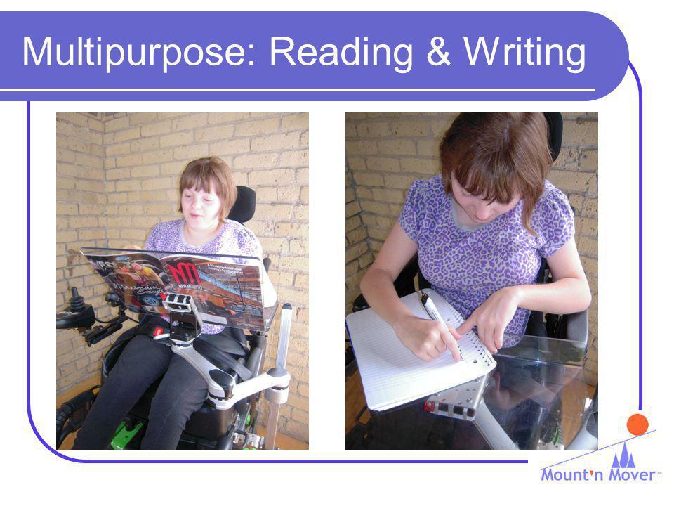Multipurpose: Reading & Writing