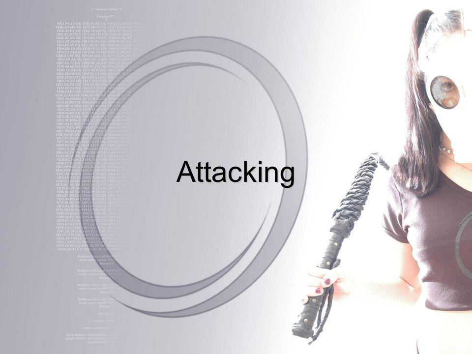 Attacking