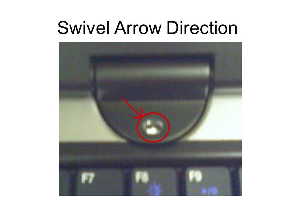 Swivel Arrow Direction